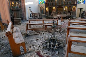За время событий в Сирии боевики разрушили 60 храмов, полмиллиона христиан покинули страну