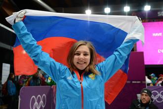 Елена Никитина стала третьей в соревнованиях по скелетону