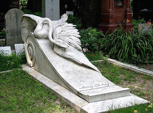 Памятник Леониду Собинову на Новодевичьем кладбище