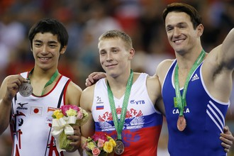 Денис Аблязин с золотой медалью чемпионата мира