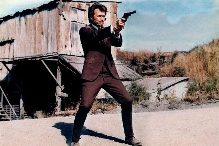 Клинт Иствуд в фильме «Грязный Гарри» (1971)