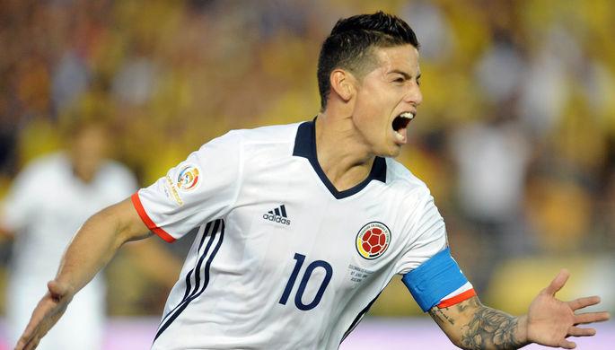 Хамес вывел Колумбию в плей-офф