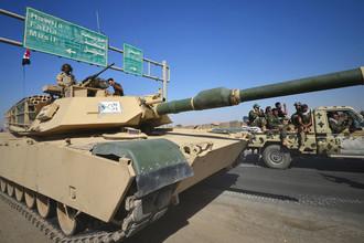 Танк федеральных войск Ирака в Киркуке, 16 октября 2017 года