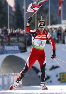 Кристоф Шуман финиширует вторым