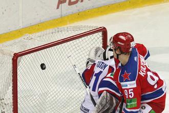 Наставники команд сошлись во мнении, что две быстрые шайбы предопределили успех ЦСКА