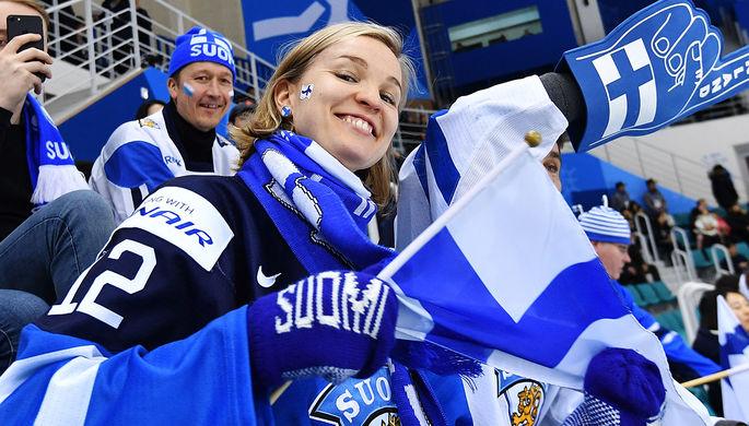 Болельщица из Финляндии