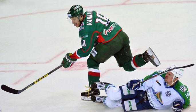 Данис Зарипов в Матче звезд КХЛ