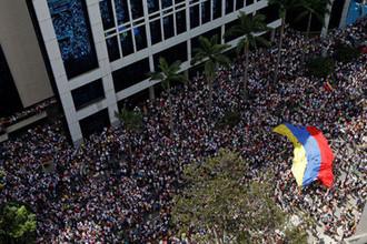 Cитуация в Каракасе 23 января 2019 года