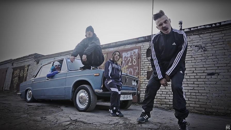 Кадр из клипа LITTLE BIG- WITH RUSSIA FROM LOVE