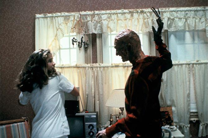 Кадр из фильма «Кошмар на улице Вязов» (1984)