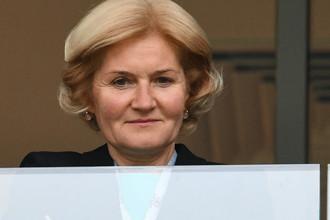 Вице-премьер по культуре и спорту Ольга Голодец