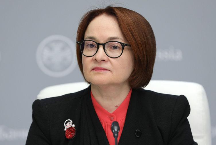 Председатель Центрального банка РФ Эльвира Набиуллина на пресс-конференции по итогам заседания Совета директоров ЦБ РФ, март 2020 года