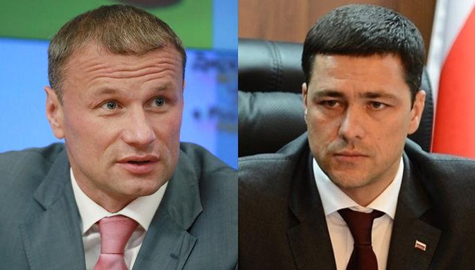 Дмитрий Сватковский (слева) и Михаил Ведерников