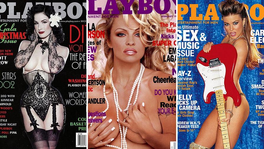 Плейбой с известными российскими женщинами.
