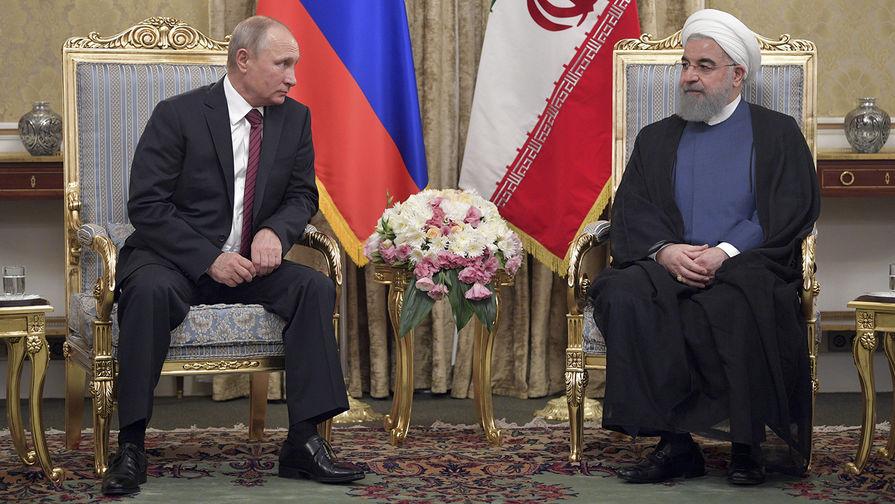 Путин обсудил с Роухани по телефону ситуацию с пандемией