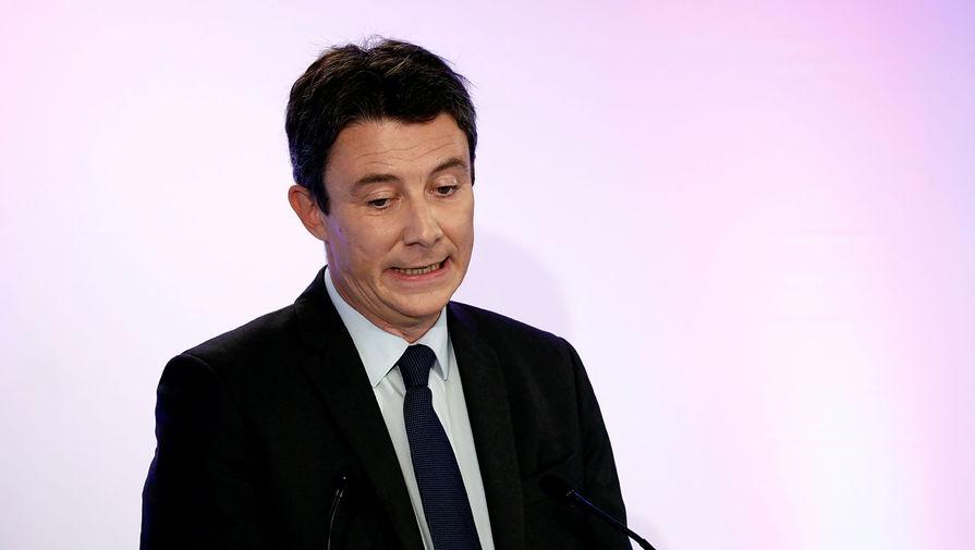 Бенжамен Гриво во время пресс-конференции в Париже, 5 февраля 2020 года