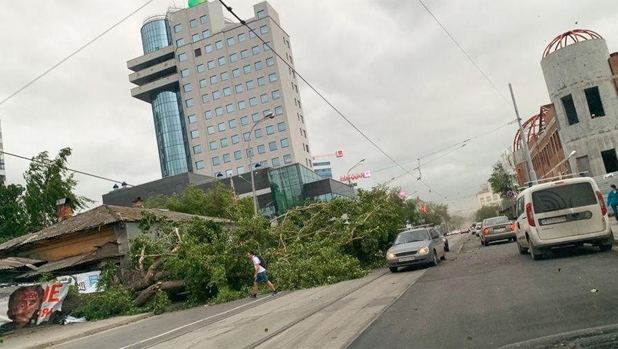 Последствия Урагана в Екатеринбурге, 25 мая 2020 года