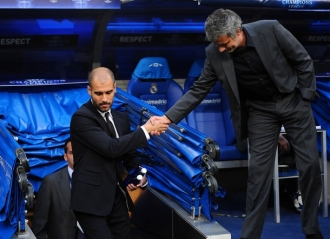 После матча Жозе Моуринью и Хосеп Гварьола руки не пожали