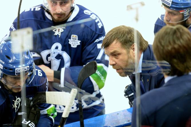 Олег Знарок сумел объяснить динамовцам как вернуться в игру
