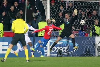 «Виктория» переиграла ЦСКА и вышла в плей-офф Лиги Европы