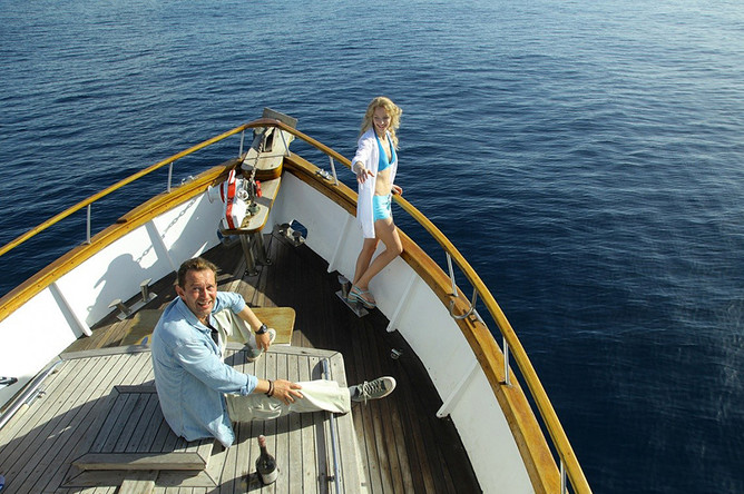 Кадр из фильма «Авантюристы»