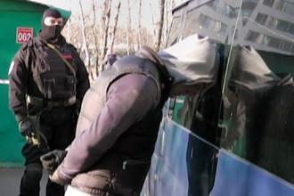 Задержание подозреваемых в нападениях на инкассаторов в Москве