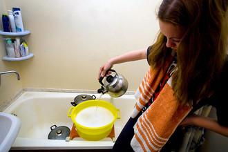 Мэрия определила график отключения горячей воды