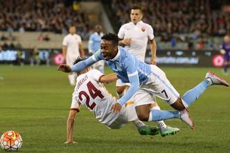 Полузащитник Рахим Стерлинг забил первый мяч за «Манчестер Сити»