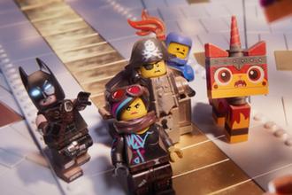 Кадр из мульфильма «Лего фильм 2»