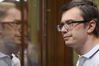 Бывший первый заместитель руководителя столичного главка СК России Денис Никандров, 2018 год