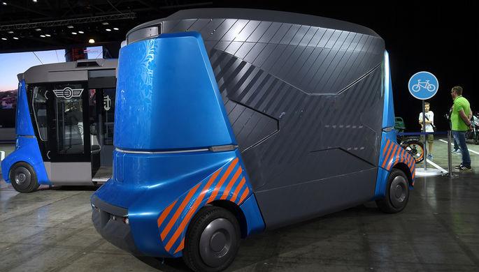 Беспилотные автобусы «Матрешка»
