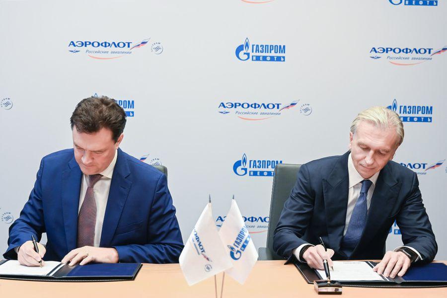«Газпром нефть» и «Аэрофлот» планируют снизить углеродный след авиаперевозок