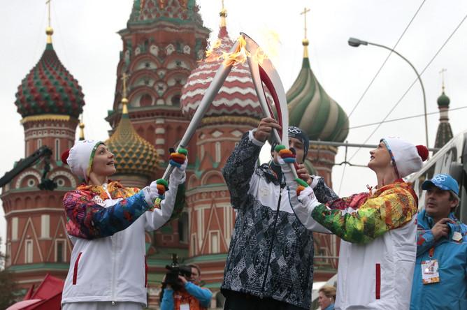 Синхронистка Анастасия Давыдова и гимнастка Светлана Хоркина.