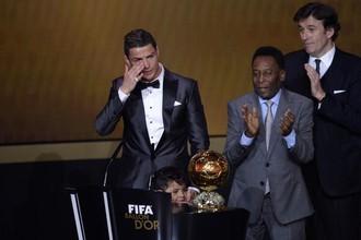 Пеле и лидер «Реала» Криштиану Роналду