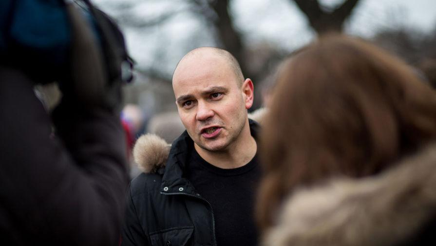 Андрей Пивоваров, глава предвыборного штаба оппозиционной партии ПАРНАС