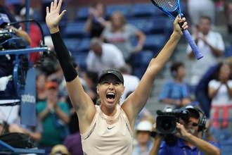 Мария Шарапова победила Тимею Бабош и вышла в 1/16 финала US Open.