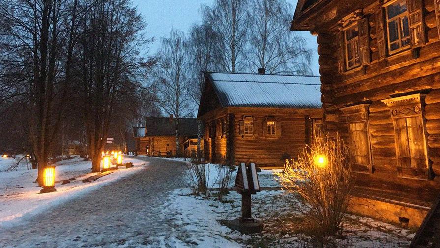 В музей-заповедник «Костромская слобода» на машине заехать нельзя, но тут и так неплохо