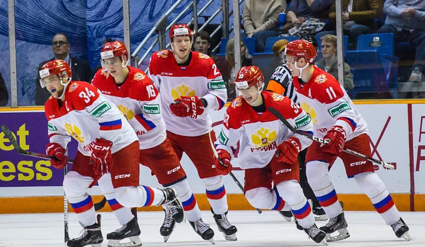 Молодежная сборная России вышла в плей-офф чемпионата мира