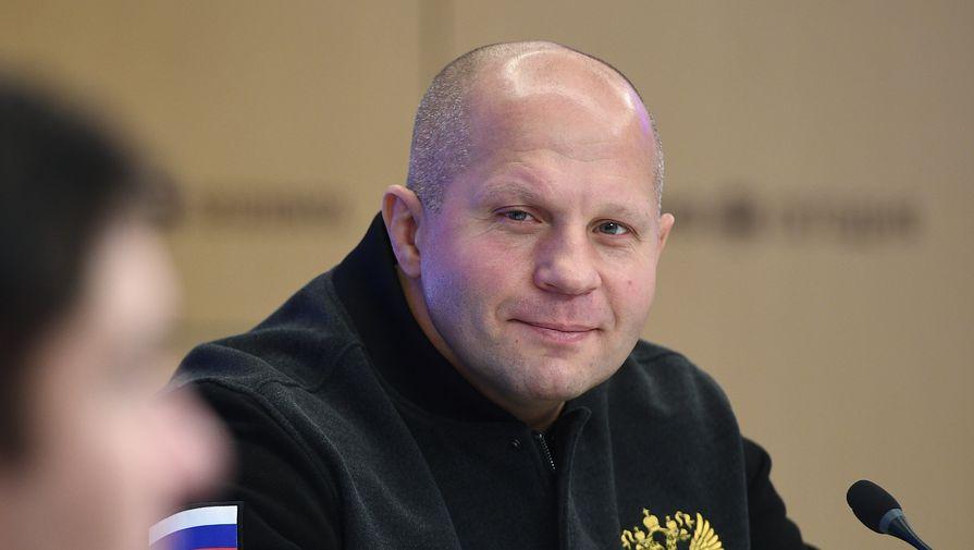 Российский боец MMA Федор Емельяненко
