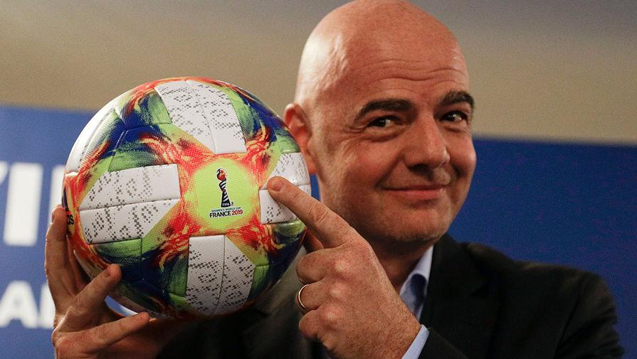 Президент FIFA Джанни Инфантино, 2019 год