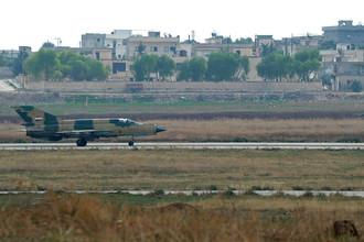 Истребитель третьего поколения МиГ-21 (Сирия)