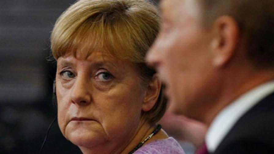 Путин начал встречу с Меркель на G20