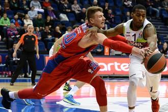 Лидер сезона в Евролиге московский ЦСКА принимает у себя «Басконию» из Витории