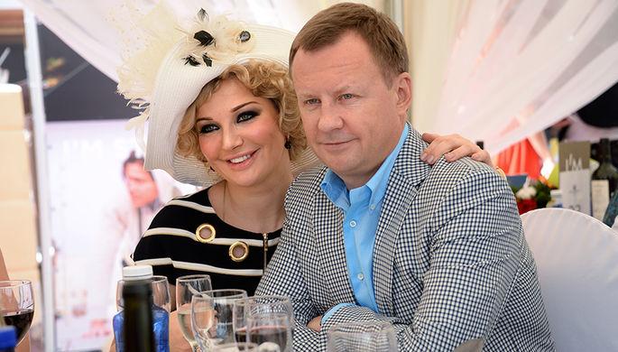 Мария Максакова с супругом Денисом Вороненковым