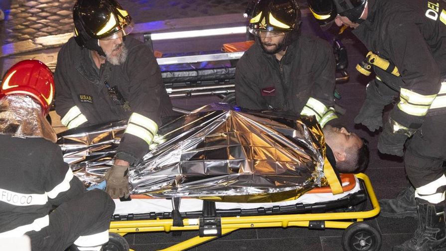 При аварии эскалатора в метро Рима пострадали фанаты ЦСКА