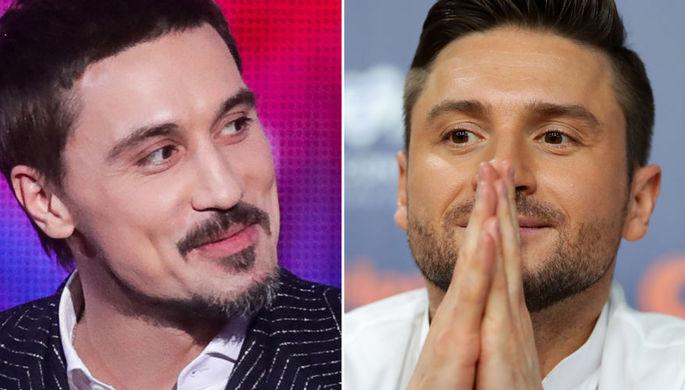 Дима Билан и Сергей Лазарев, коллаж «Газеты.Ru»