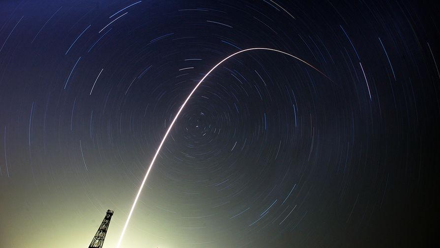 Старт ракеты «Союз-ФГ» с миссией «Союз ТМА-13М», 2014 год