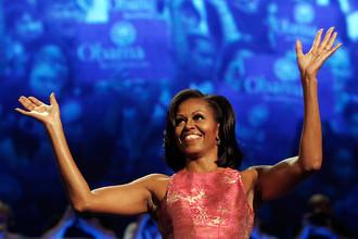 Первая леди США Мишель Обама — яркий пример сильных и подтянутых рук