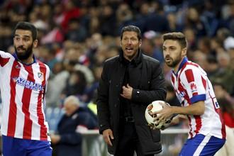 Футболисты «Атлетико» вместе со своим наставником постараются максимально затруднить жизнь «Реалу»
