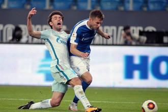 «Динамо-СПб» победило «Зенит» в матче 1/16 Кубка России по футболу